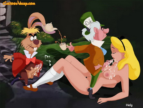 blowjob alice in wonderland