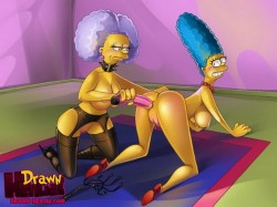 Marge Simpson sex with sisters - Marge Simpson porn The Simpsons