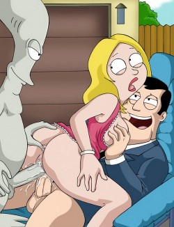 American Dad! - Francine porn comics - American Dad! Francine porn