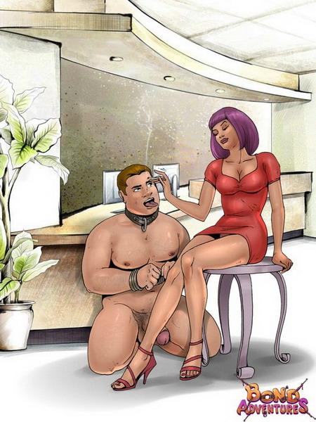 amazons femdom chubby