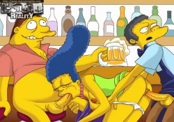Simpsons hardcore toons - Marge Simpson porn The Simpsons