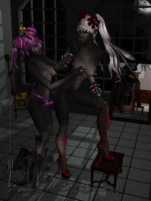 Dark porn 3D - 3D Porn Toons