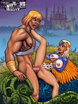 CartoonReality of  He-man - Adult Cartoons