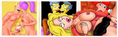 Sluts from The Tram-Pararam - Adult Cartoons Adult Comics