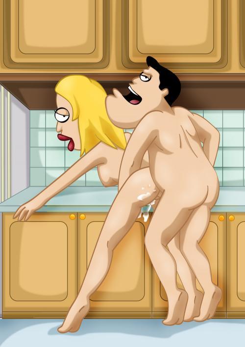 American Dad! – Francine porn comics